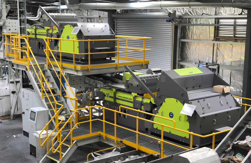 Automated Plastic Sorting Systems - Sesotec