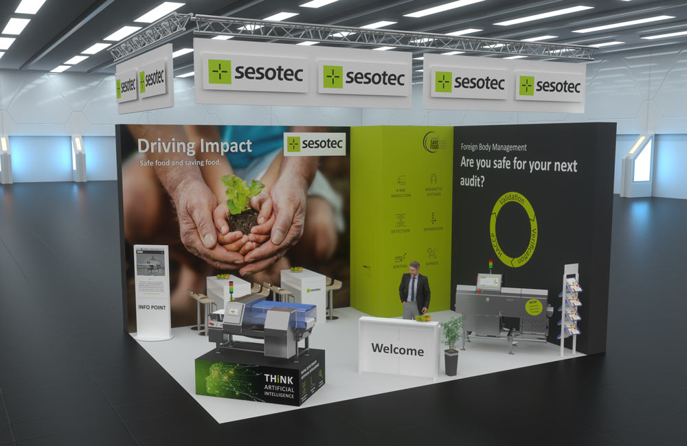 Interpack virtueller stand sesotec