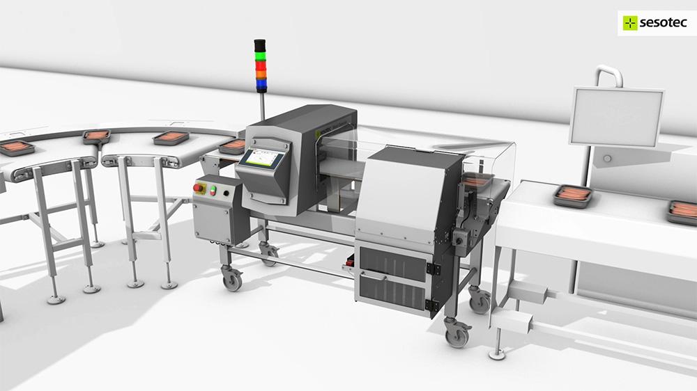 intuity video thumb metal detectors for conveyor belts and chutes − sesotec