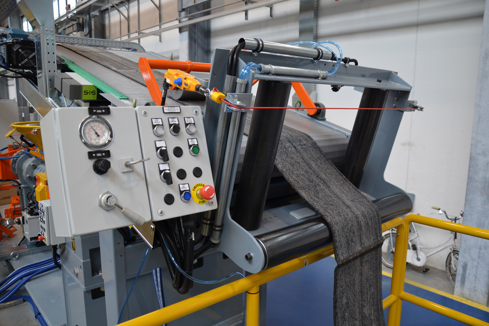 Contaminant Detection for Rubber Production - Sesotec